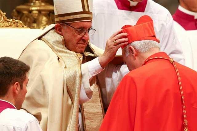 El Papa Francisco nombra cardenal a Carlos Aguiar Retes