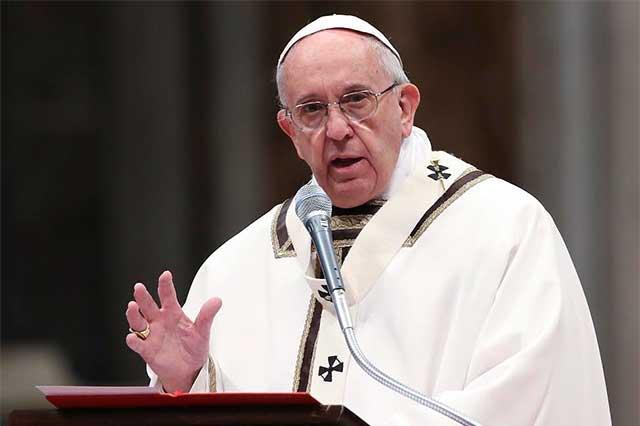 Dona el Papa 106 mil dólares a los pobres de la ciudad de Alepo