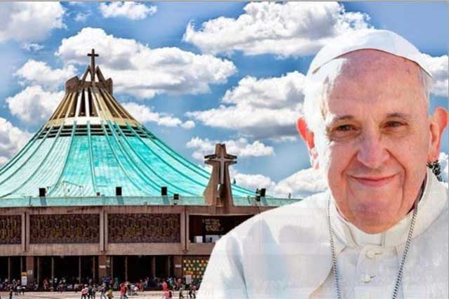 Confirma el Papa que visitará a la Guadalupana el 13 de febrero de 2016