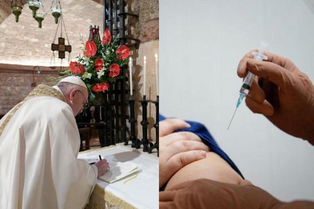 Pide papa Francisco que la vacuna sea universal