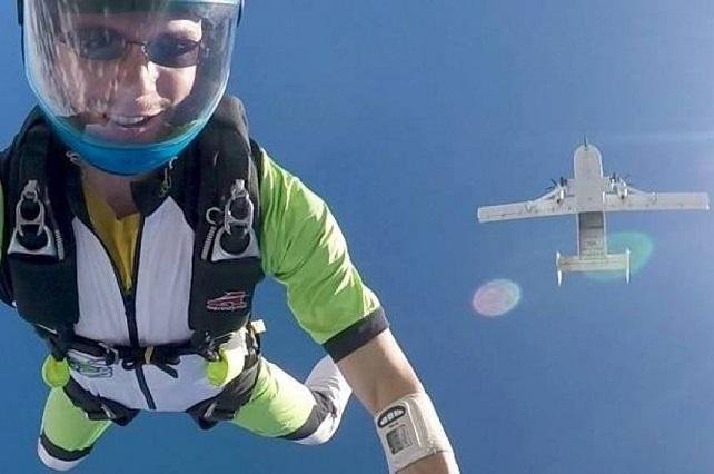 Paracaidista graba video a su esposa contándole cómo se quitaría la vida