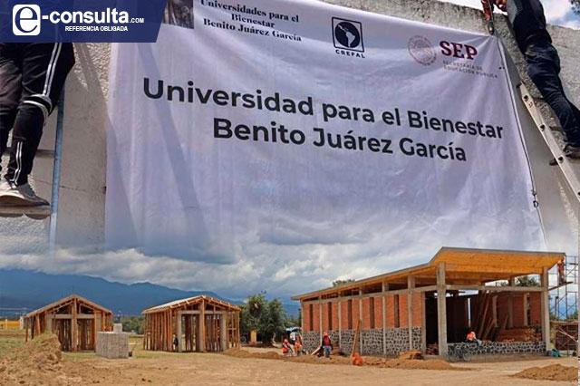Frenan construcción de Universidad del Bienestar en Chiautzingo