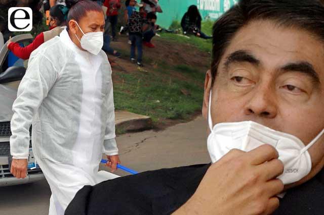 Paran hospitales de Puebla; amagos, no: Barbosa