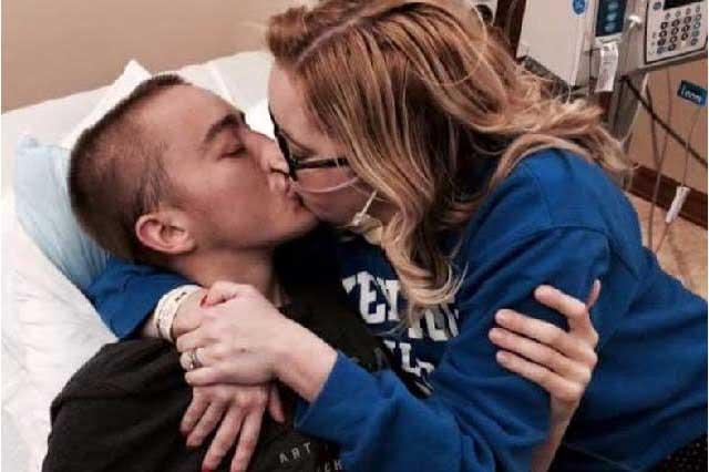 Relación y muerte de pareja con fibrosis quística conmueve en FB