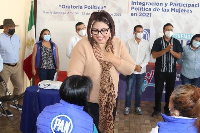 Paridad es asunto de justicia y dignidad: Genoveva Huerta