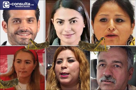 Primero los parientes, el lema de las candidaturas en Puebla