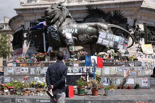Recuerdan en París los atentados terroristas de hace dos años