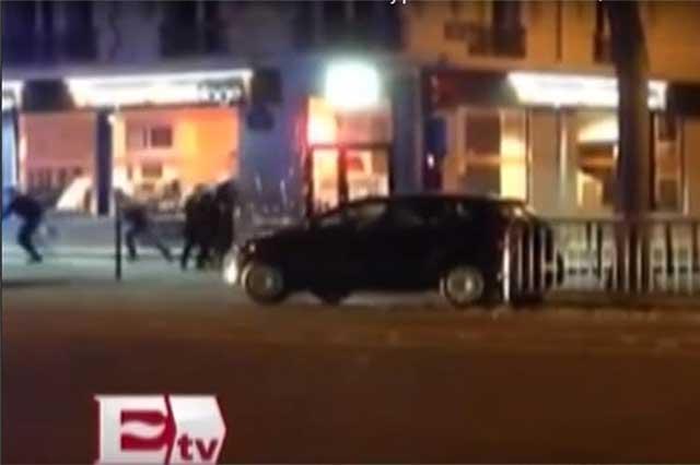 Difunden dramática escena del enfrentamiento entre policías y terroristas
