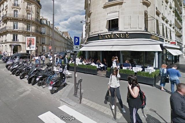 L' Avenue: Angélica Rivera comió en sitio de París visitado por celebridades