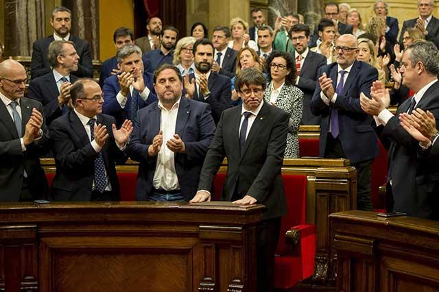 España aplicará el artículo 155 y disolverá el parlamento catalán
