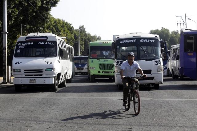Poco, pero aumentará tarifa del transporte, dice diputado