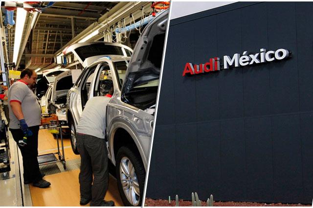Audi frena producción en Puebla por efecto del Covid-19