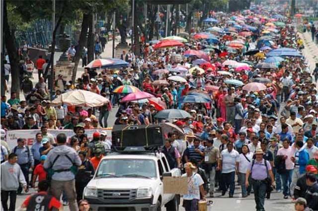 Desafía CNTE a Nuño y convoca a paro nacional