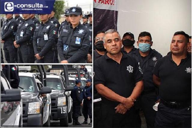 Policías de Puebla, los que más protestan por abusos y salario