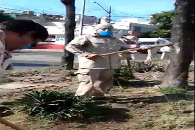 'Pura gente del señor Mencho'; parodian video del CJNG