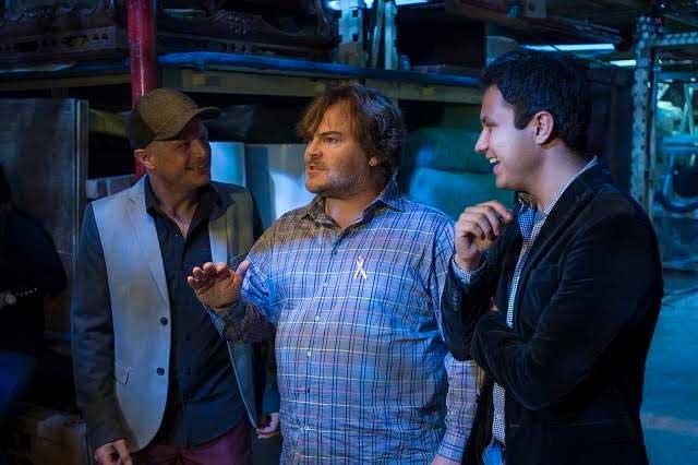Jack Black, Facundo, Luisito Rey y Lalo Manzano juntos en Parodiando