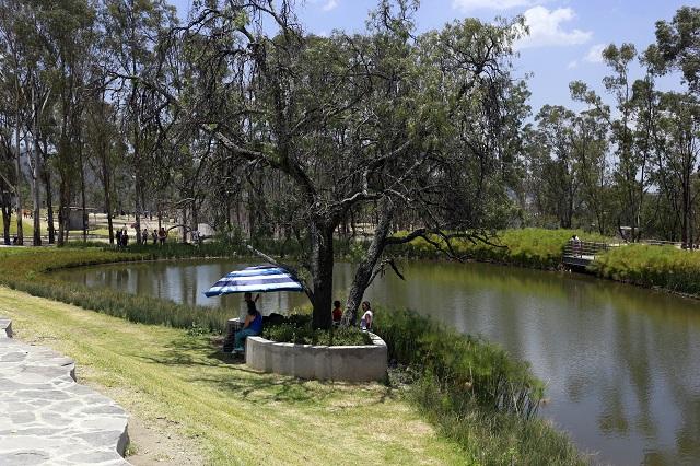 Plantean inversión por 46 mdp para el Parque Amalucan