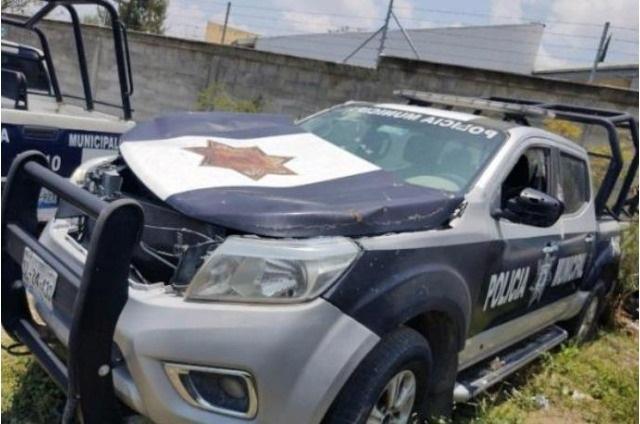 Deficiente el parque vehicular de la policía en Tehuacán