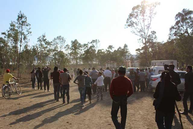 Acusan al gobierno estatal de retrasar amparo contra parque de Amalucan