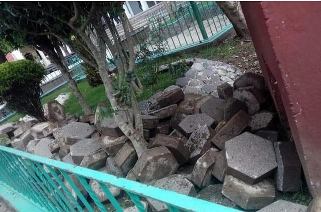 Inicia obra edil de Zoquitlán y los pobladores la detienen