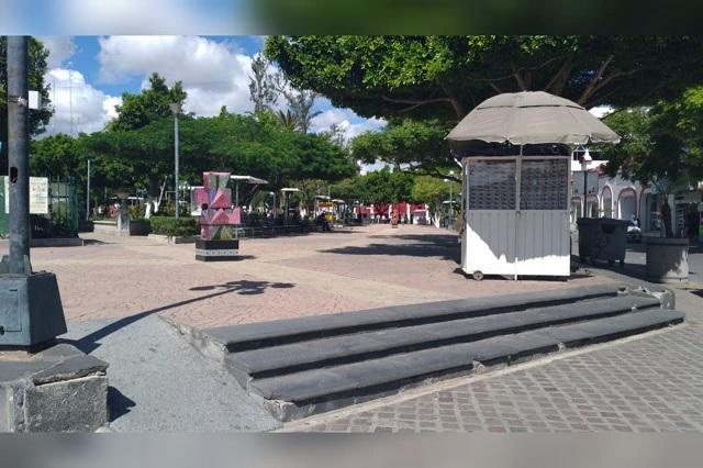 En Tehuacán reabren Parque Juárez ante la nueva normalidad