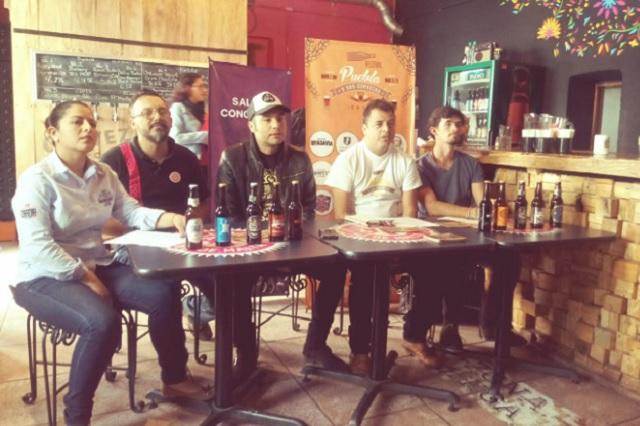Participan 30 productores en festival Puebla y sus Cervezas 2018