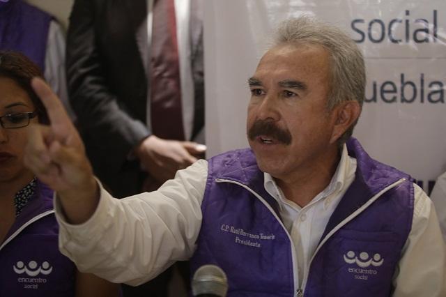 Acusan a líder del PES de vender en 15 mp candidaturas a ediles