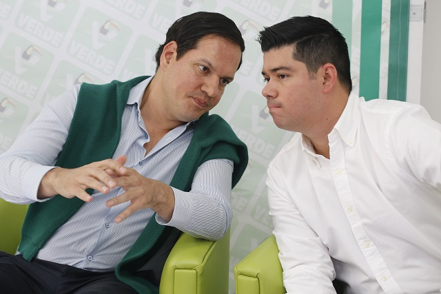 Llega a dirigencia estatal del PVEM Jaime Natale; Kuri va al CEN