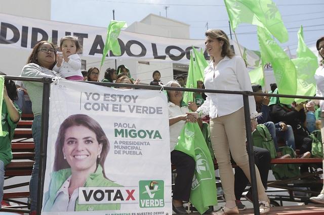 Puebla merece tener el primer gobierno ciudadano: Paola Migoya