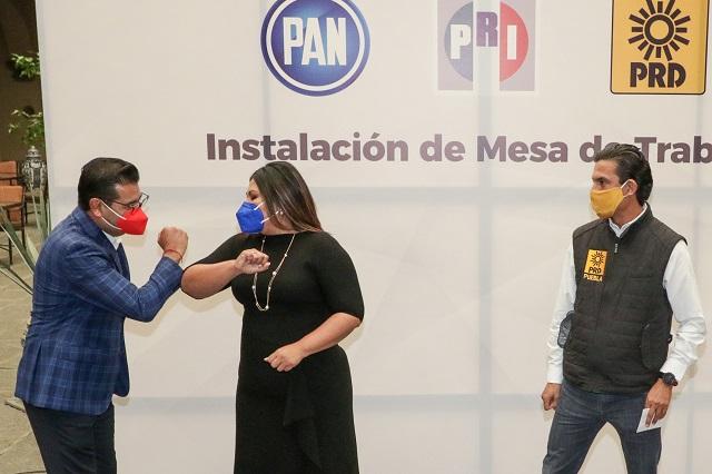 Reclaman PRI y PRD al PAN por romper alianza; piden renegociar