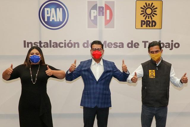 Rompe PAN coalición con PRI y PRD por alcaldía de Puebla