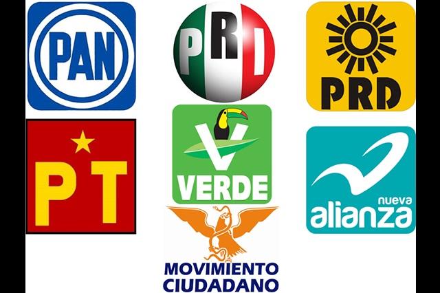 Partidos políticos le deben a bancos mil 100 millones de pesos