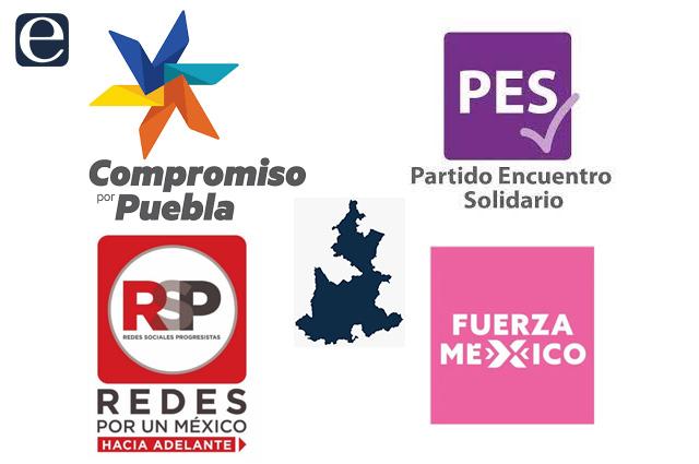 Cuatro partidos políticos perderán su registro en Puebla