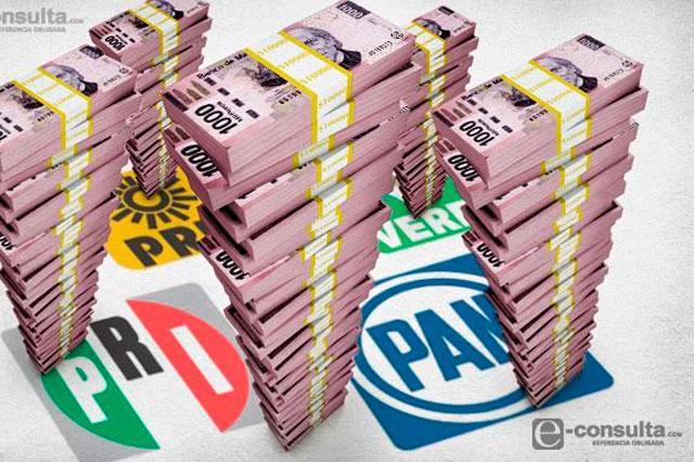Pide RMV limitar dinero a partidos y promoción personal en TV