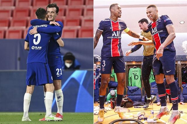Fotos: Twitter / @PSG_espanol - @ChelseaFC_Sp