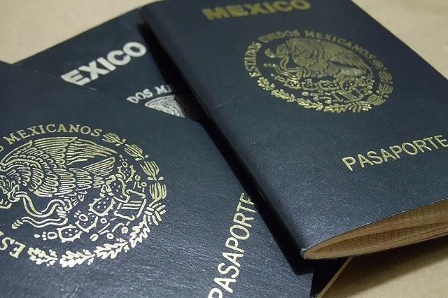 Publica la SRE los nuevos precios de los pasaportes