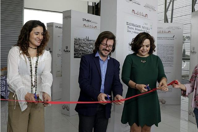 Abren exposición Pasajes de Guerra en la ciudad de Puebla