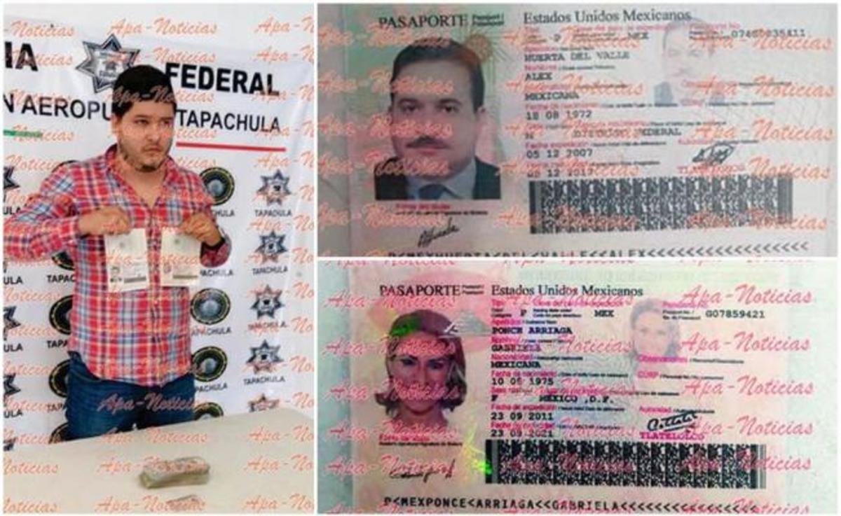 Liberan al sujeto que llevaba un pasaporte de Javier Duarte