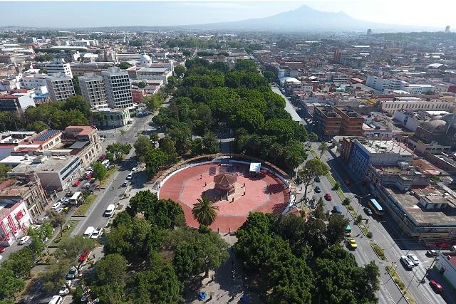 Remodelan Paseo Bravo y anuncian reglamento para Parque de Amalucan