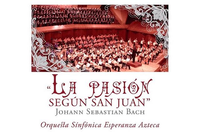 La Pasión según San Juan, de Bach, en  la Catedral de Puebla