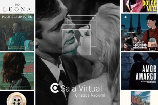 ¿Cómo ver películas desde la Sala Virtual de la Cineteca?