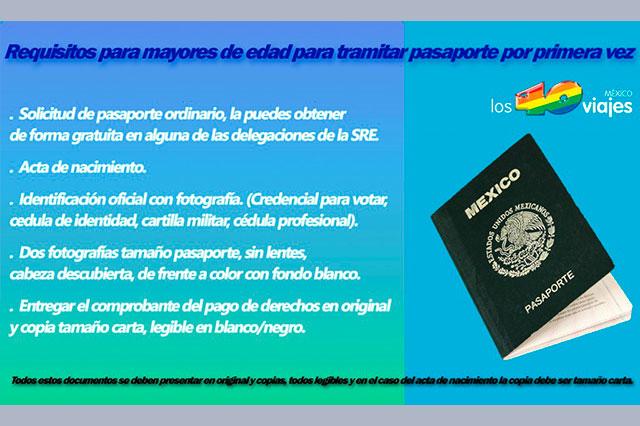 Desde el 1 de octubre, se tramitará el pasaporte por internet
