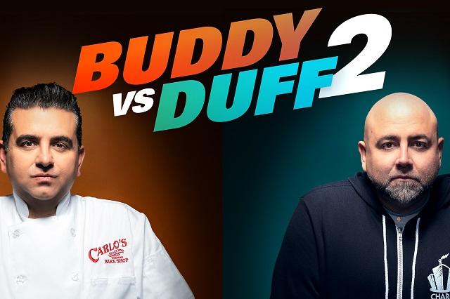 Buddy vs  Duff: el gran duelo de pasteleros de la tv