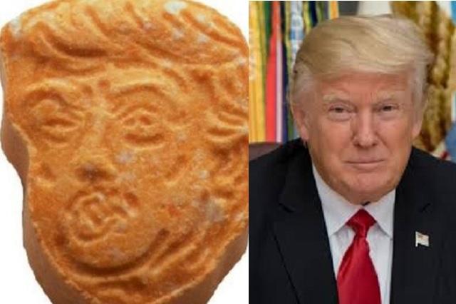 Aseguran en Chile 51 pastillas de éxtasis con la cara de Donald Trump