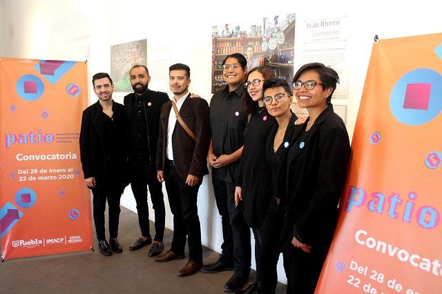 Convocan a intervenir con arte 10 patios de Puebla capital