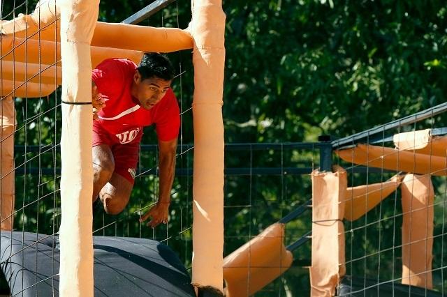 Pato Araujo primer semifinalista hombre del Exatlón