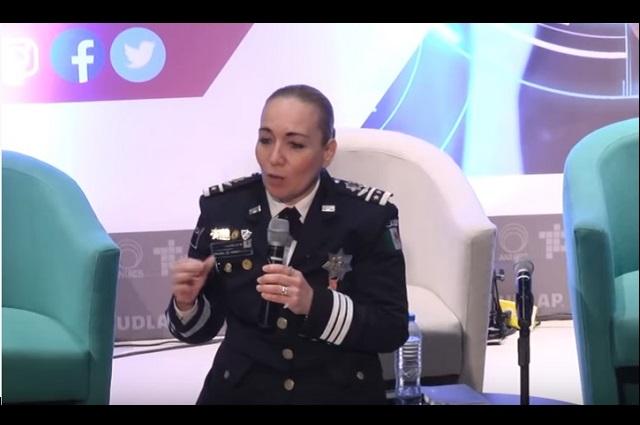 Patricia Trujillo pide licencia ilimitada en la Guardia Nacional