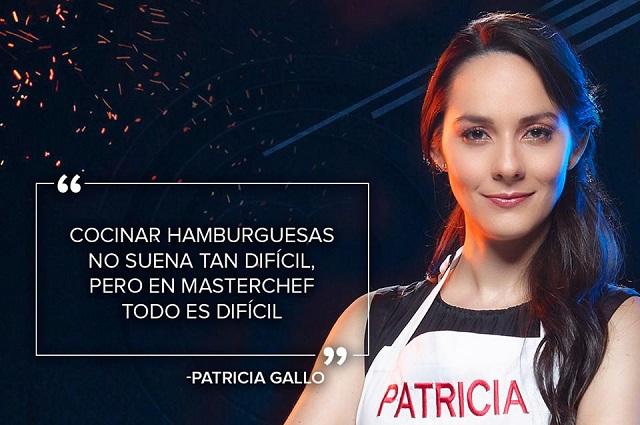 ¿Quién es Patricia Gallo, que hace arder MasterChef México?