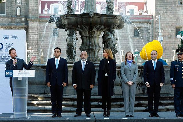 La ciudad de Puebla conmemora 30 años como Patrimonio Mundial