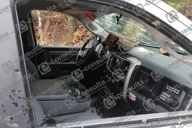 Desarman y golpean a policías estatales en Teopancingo